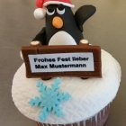 Cup Cake Pinguin